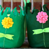 DIY Felt Easter Basket…