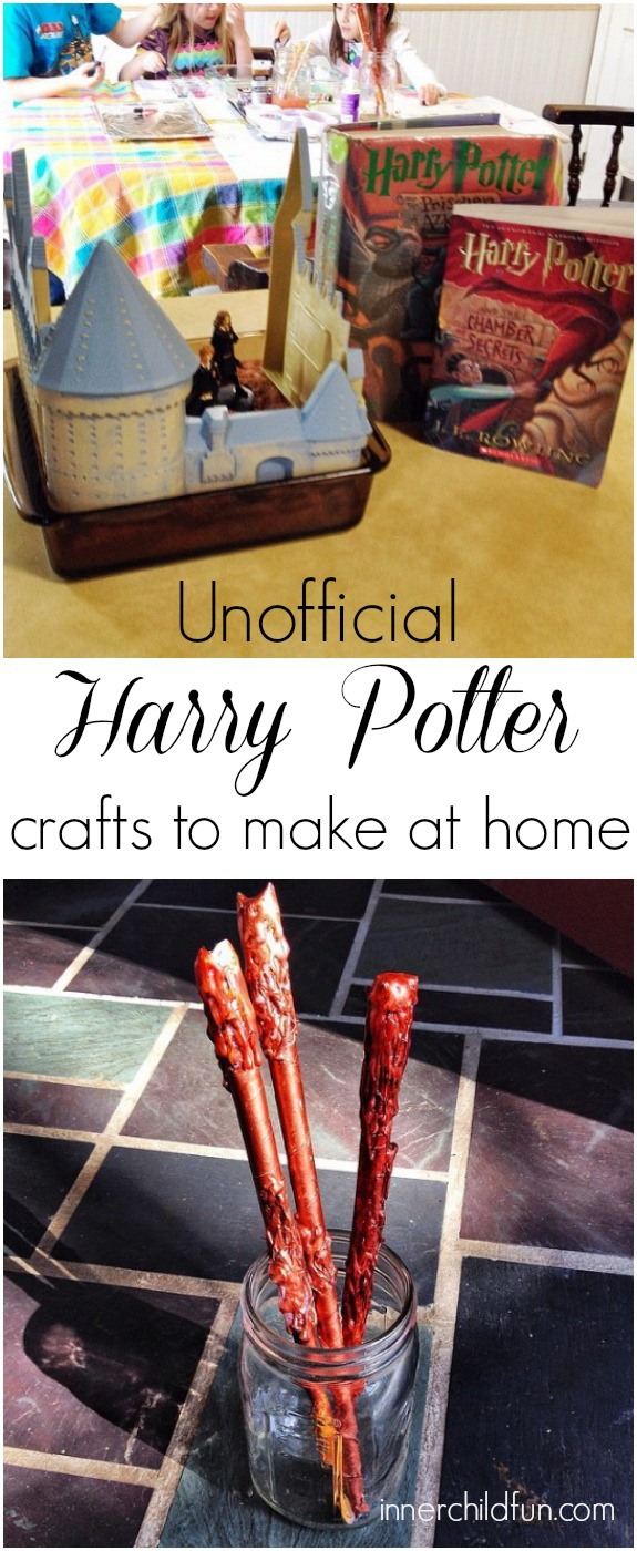 Harry Potter Crafts to Make at Home (unofficial)