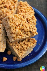 End of the School Year Treat: Peanut-Butterscotch Rice Krispie Treats