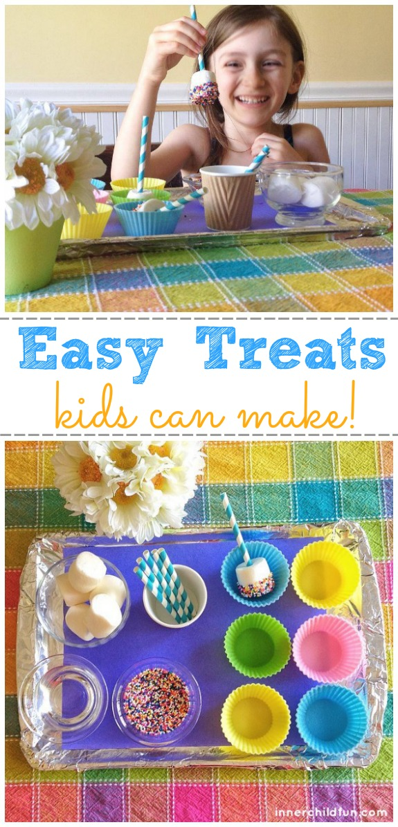 Easy Treats Kids Can Make