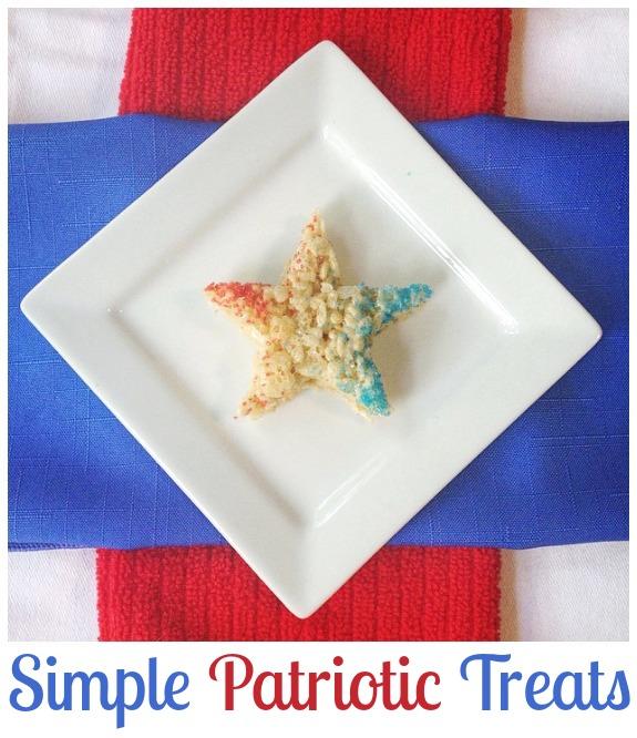 Simple Patriotic Treats