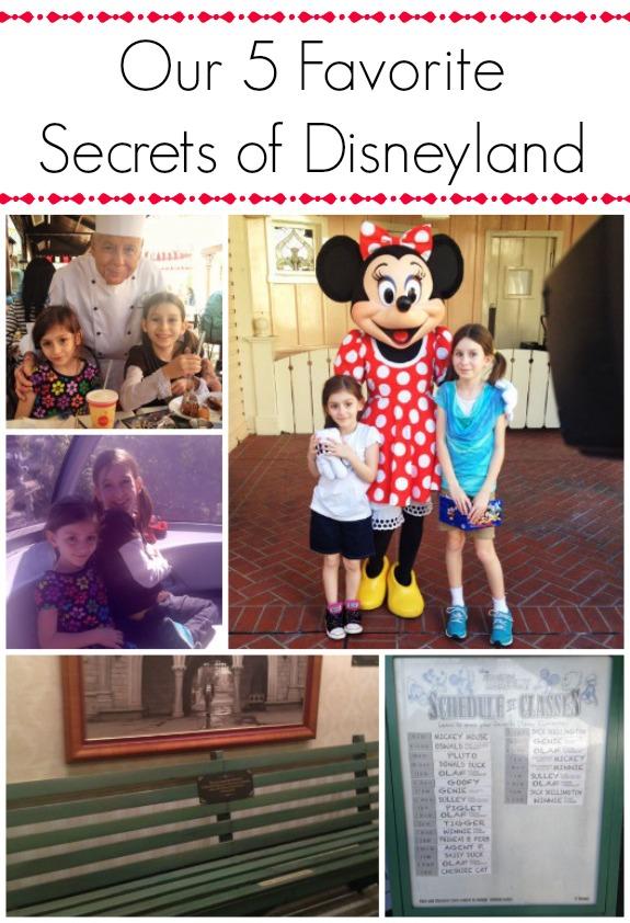 5 Favorite Secrets of Disneyland