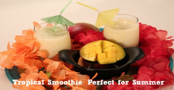 Summer Tropical Smoothie