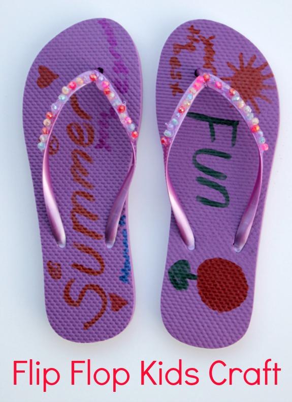 Diy Flip Flop Craft Inner Child Fun