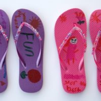DIY Flip Flop Craft