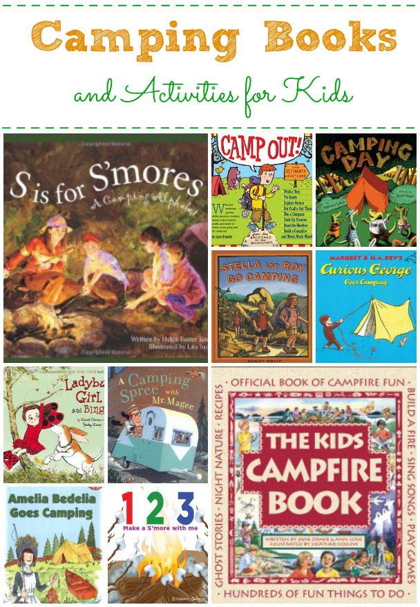 Camping Books and Activities for Kids
