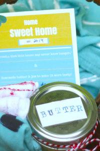 A Sweet Housewarming Gift Kids Can Make…