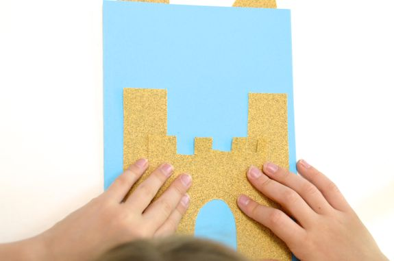 Summer Craft for Kids - Sandcastle Notecards