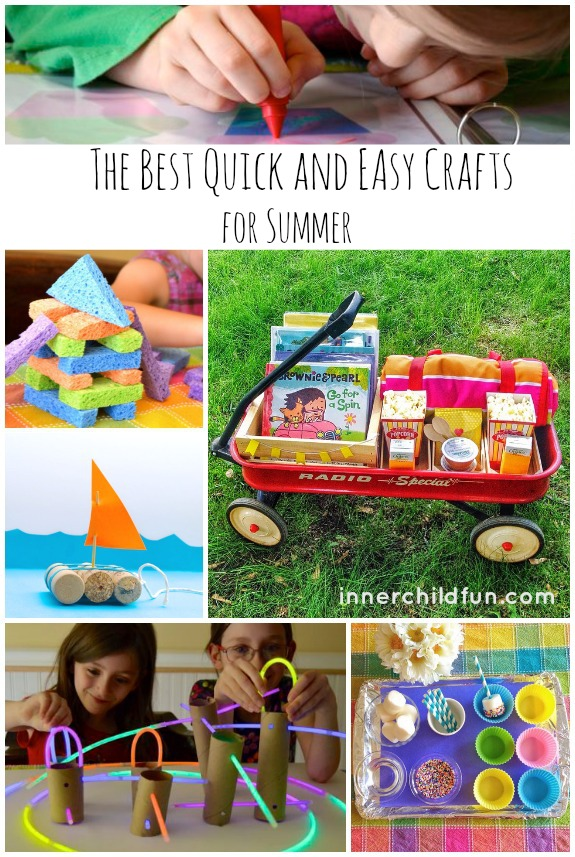 The Best Quick and Easy Crafts for Summer
