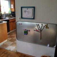Homeschooling with Toddlers – Magnet Board