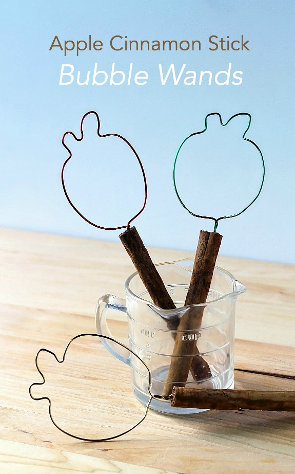 Apple Cinnamon Stick Bubble Wands - Inner Child Learning