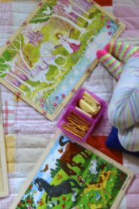 Puzzles and Pajamas Picnic