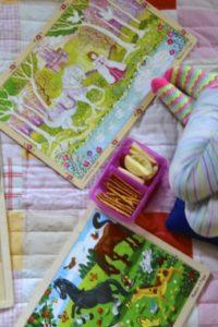Puzzles and Pajamas Picnic