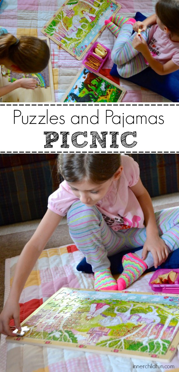 Host a Puzzles and Pajamas Picnic!