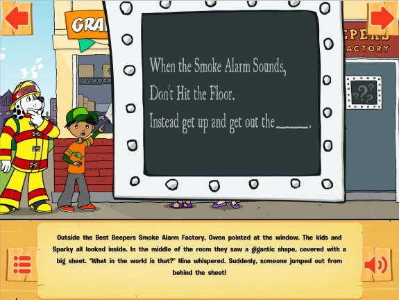 A new free app to make teaching kids about fire safety a fun and engaging process!