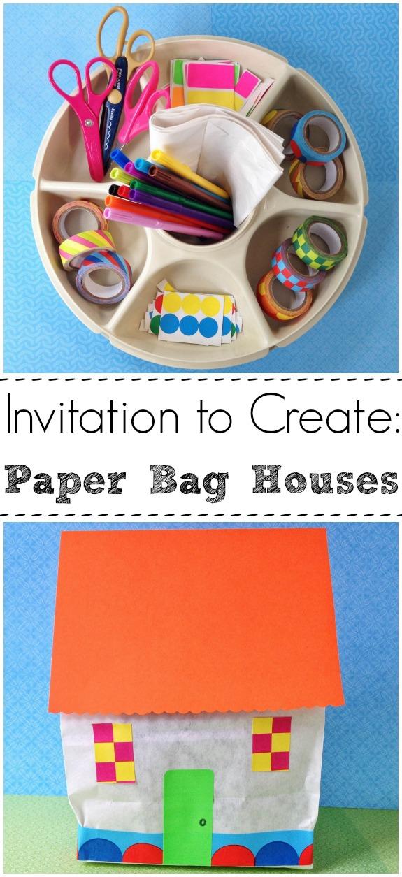 Rainy Day Fun -- Paper Bag Houses