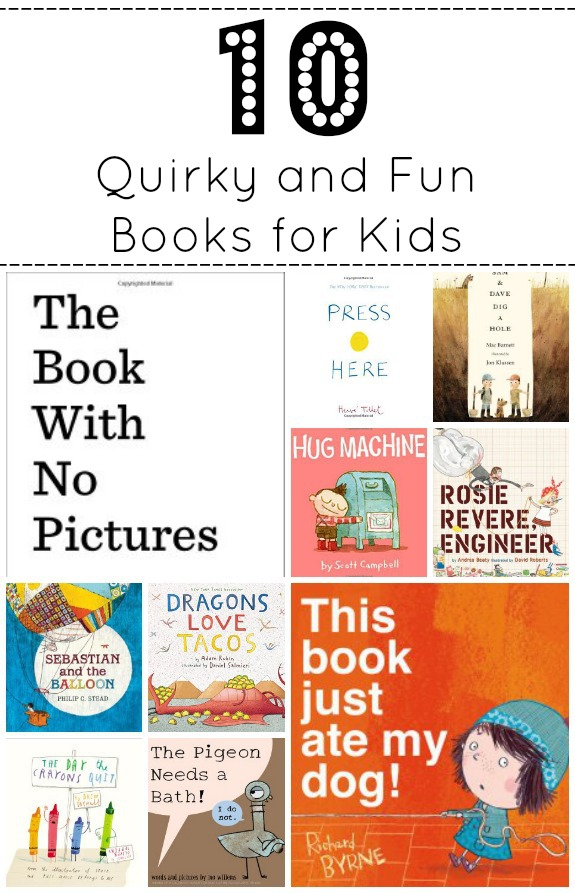 10 Quirky and Fun Books for Kids