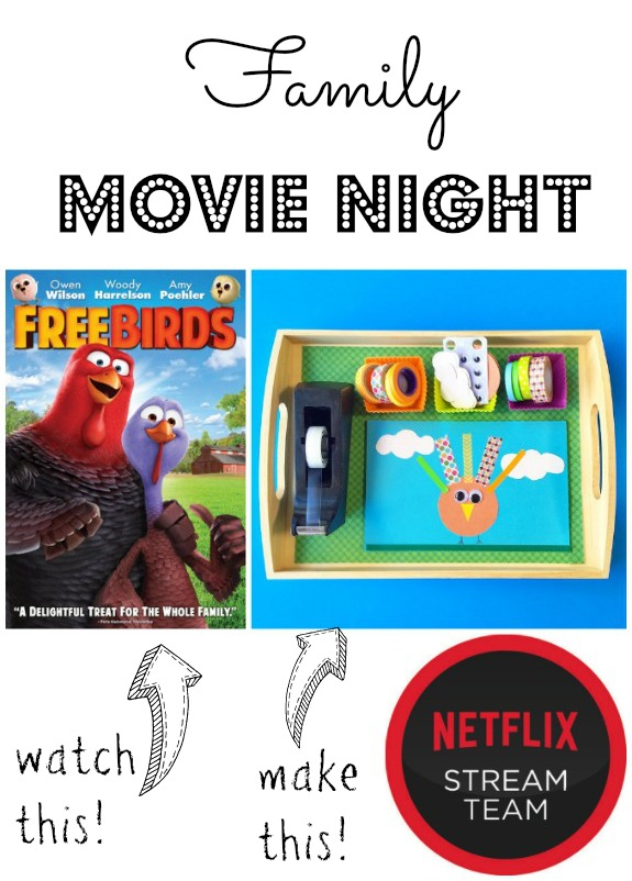 Family Movie Night for Thanksgiving