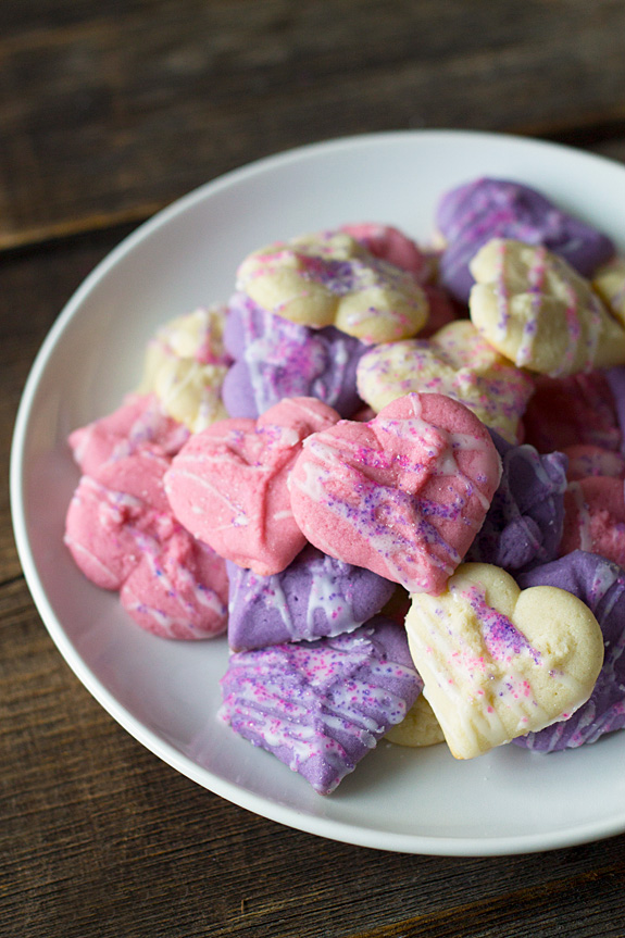 Valentine Spritz Cookies | Inner Child Food