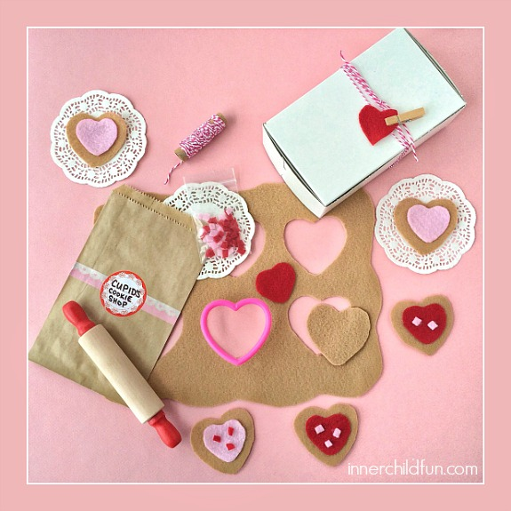 DIY Cupid's Cookie Shop -- how CUTE is this??