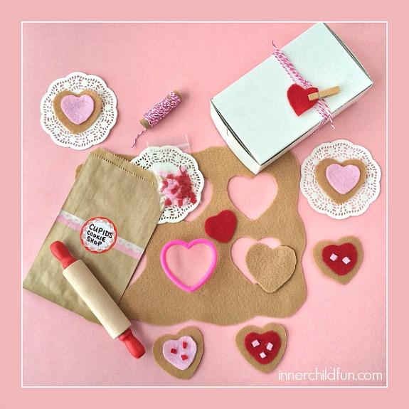 DIY Cupid's Cookie Shop -- how CUTE is this??