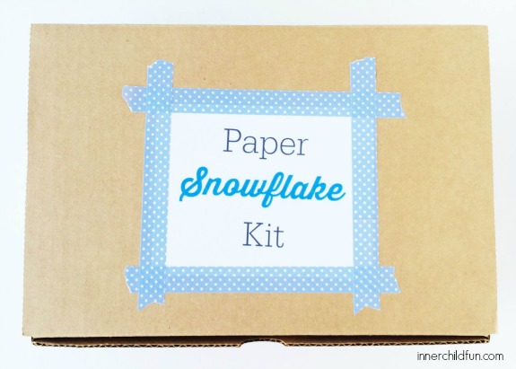 How to Make a Paper Snowflake Kit