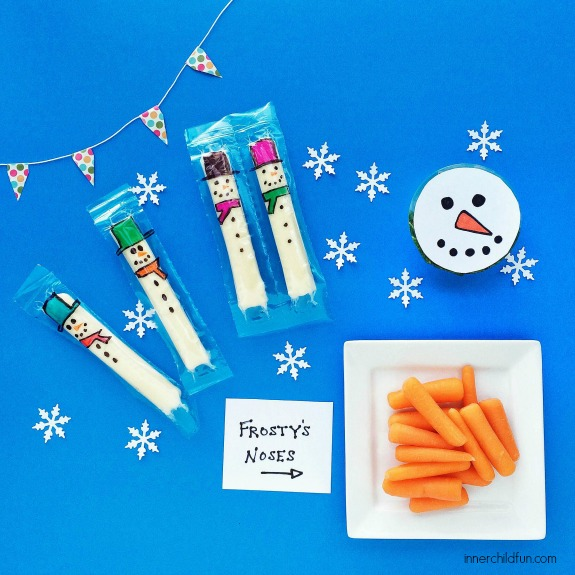 Cute Food for Kids - Snowman Snack