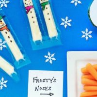 Cute Food for Kids – Snowman Snack