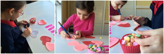 Writing Center Idea -- Top Secret Valentines! Love this!!