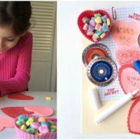 Top Secret Valentine Writing Center!