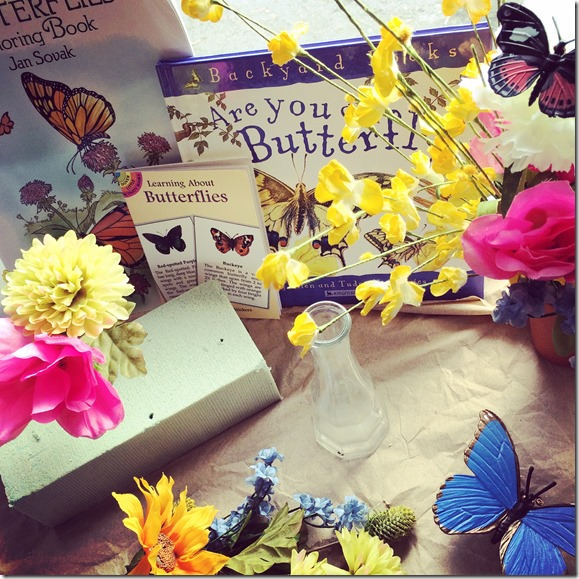 Butterfly life cycle lesson plans.  (with free printable)