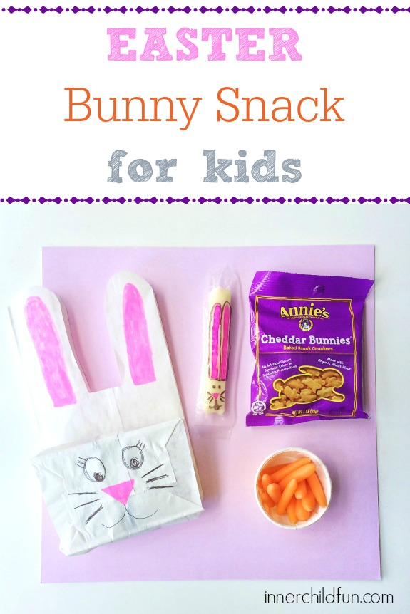 Easter Bunny Snack for Kids