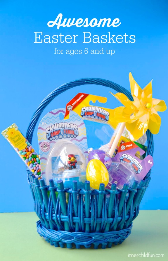 Awesome Easter Baskets for ages 6 and up