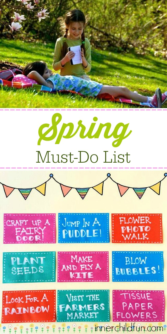 Spring Must-Do List