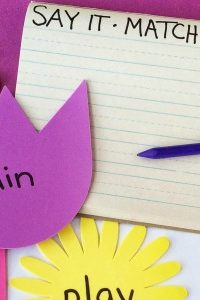 Spring Spelling Activity