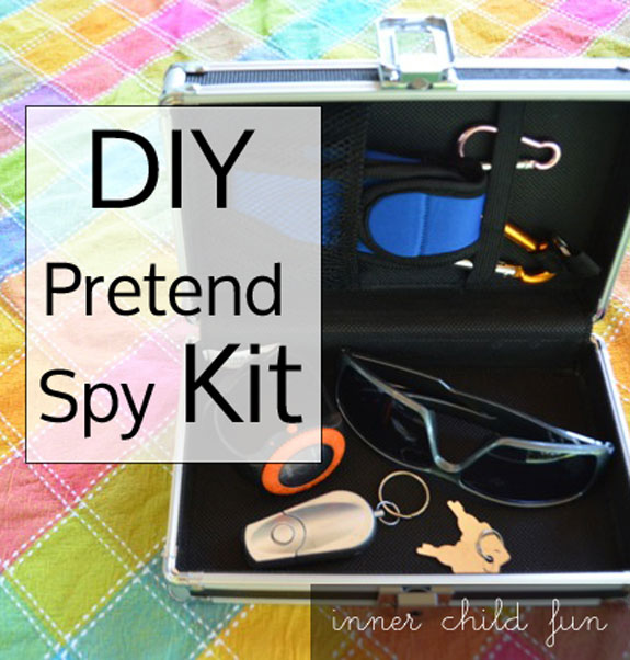 Pretend Spy Activities for Kids