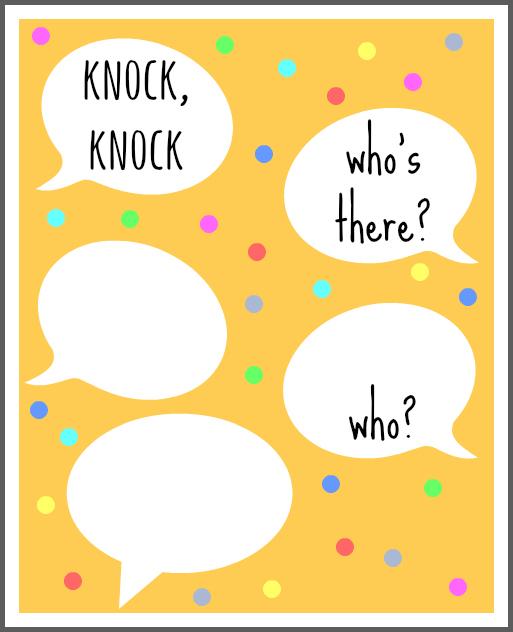 20 Knock Knock Jokes For Kids