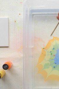 Marble Nail Polish Craft