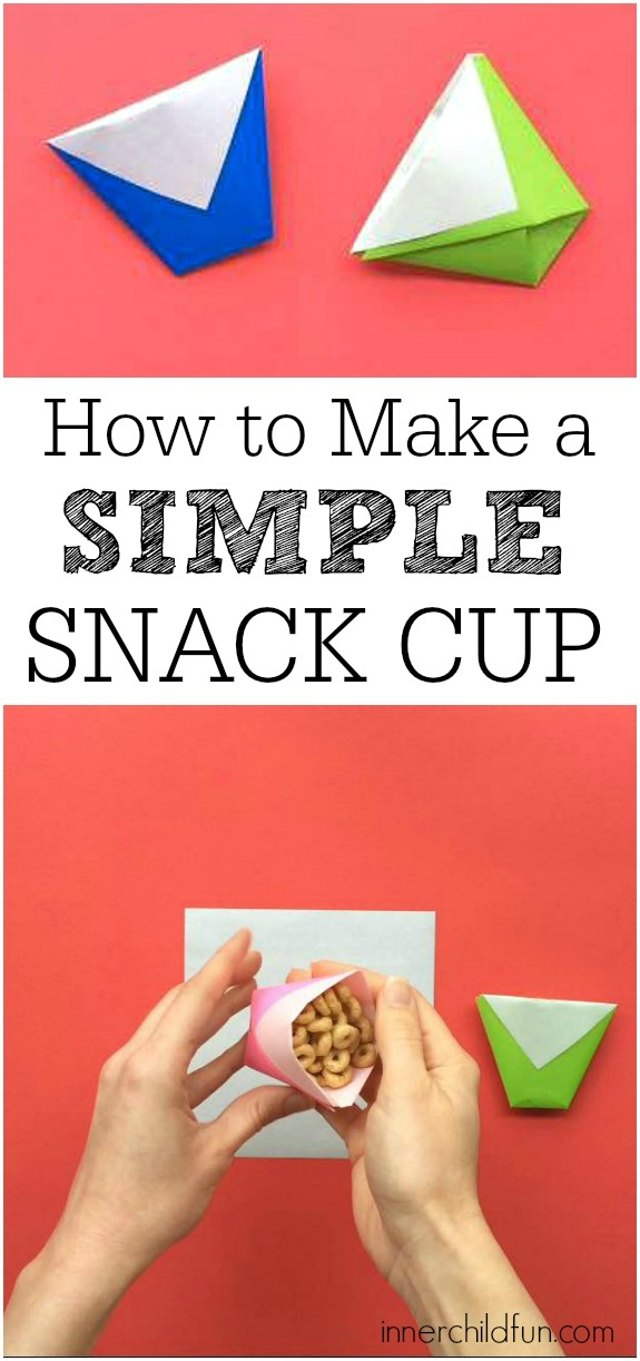 Make a Cup from a Sheet of Paper