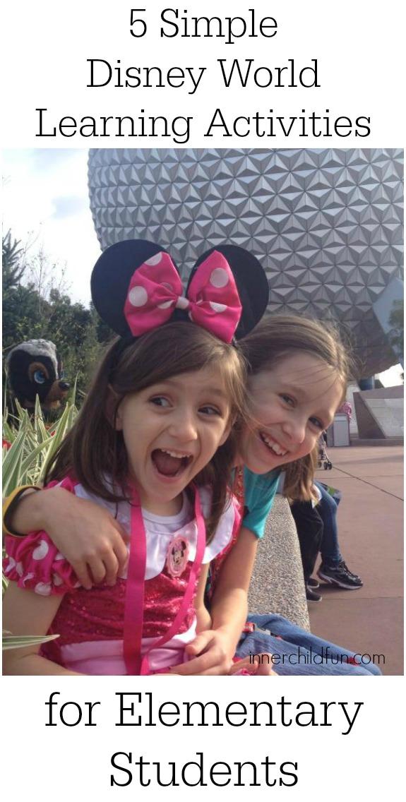 Disney World Learning Activities