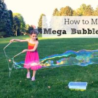 How to Make Giant Bubble Wands
