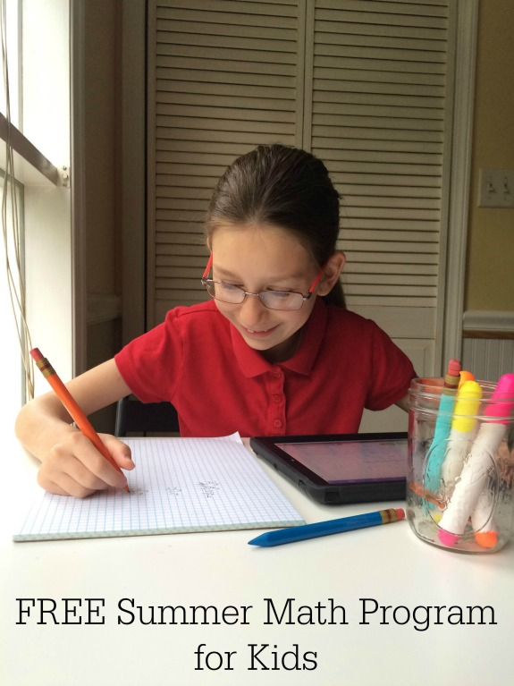 FREE Summer Math Program for Kids -- TenMarks