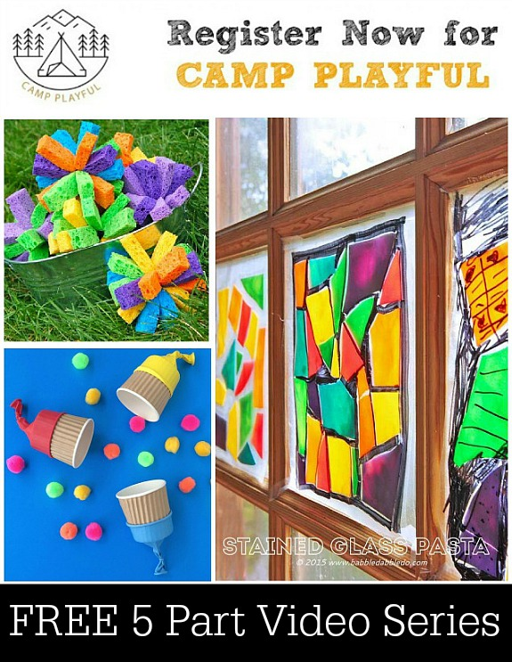 Camp Playful -- FREE 5 Part Videos Series for Summer Fun!