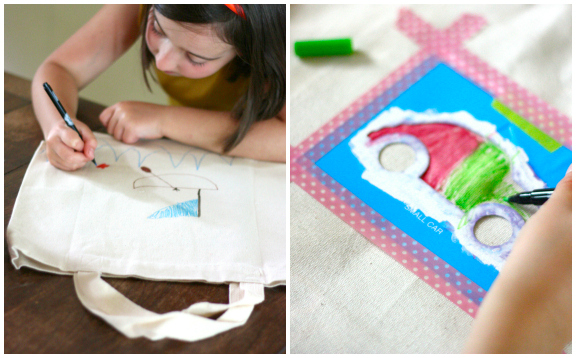 Quick and Easy Travel Activity Bags for Kids
