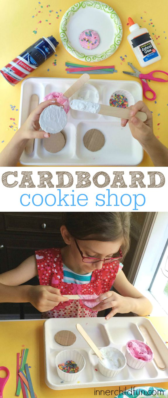 Cardboard Cookie Shop!