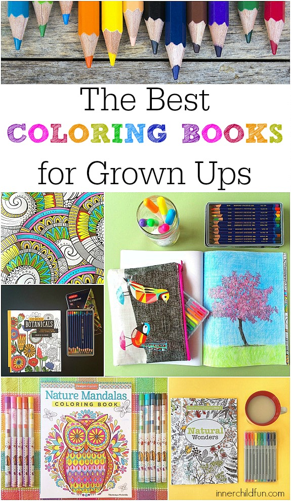 Here Are Some Of The Best Coloring Books For Adults
