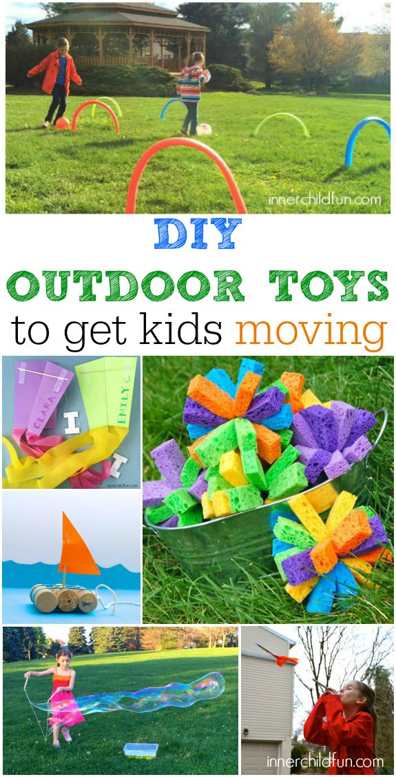 Lake Toys For Boys : Diy outdoor toys to get kids moving inner child fun