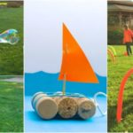 DIY Outdoor Toys to Get Kids Moving