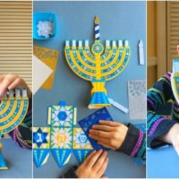 Mess-Free Hanukkah Crafts