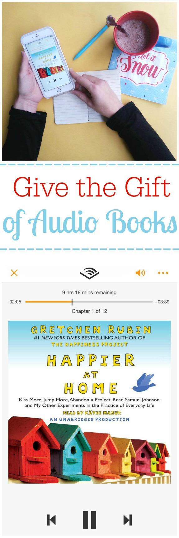 Give the Gift of Audio Books